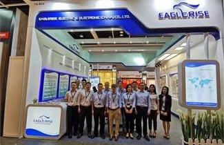 Eaglerise showed the new series of intelligent power supply at Hong Kong International Lighting Fair