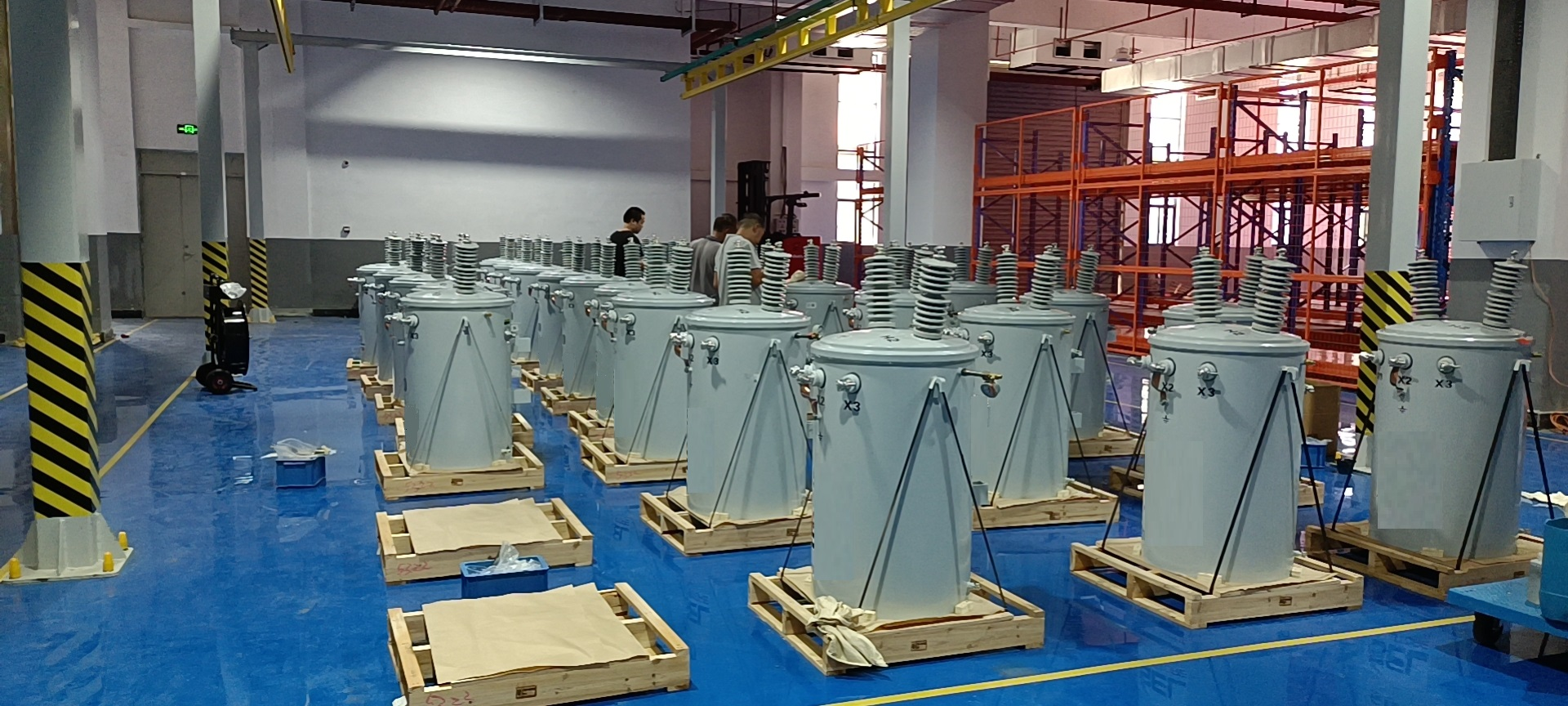The Intelligent Manufacturing Project Of Eaglerise Pole-mounted Distribution Transformer Was Put Into Operation Smoothly