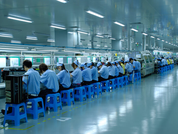 LED Driver Assembly Line