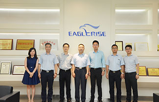 China Export & Credit Insurance Corporation Guest Visit Eaglerise