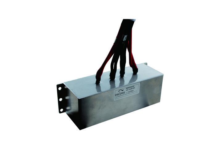 Output filter choke for 3-phase solar inverter