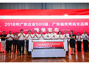 Eaglerise ,listed in the Top 500 Enterprises(2018) of Guangdong